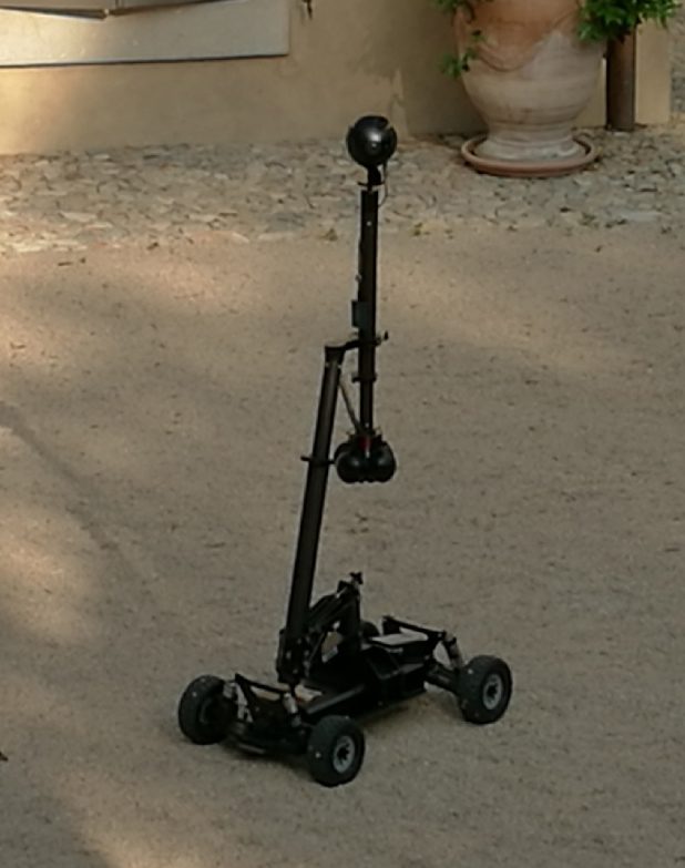 rover dolly VR Insta360 pro dronimages